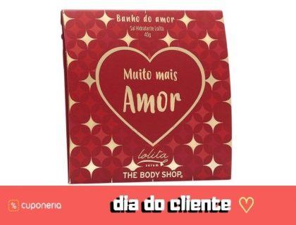 (DIA DO CLIENTE) A partir do dia 15/9:  Sachê de Banho do Amor GRÁTIS!