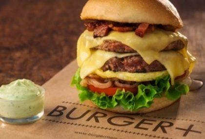 GANHE 1 Cheeseburger simples na compra de 1 Combo Duplo Bacon Cheeseburger