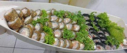 50 Peças de Sushi por apenas R$ 50,00!