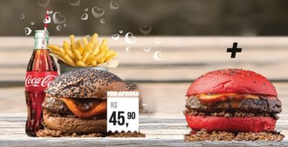 Na compra de um Combo Maravilha, GANHE um burger