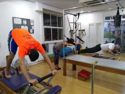 Aulas de Pilates por apenas R$ 220,00 por mês