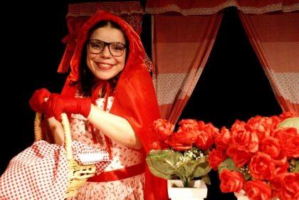 """Espetáculo """"A Chapeuzinho Vermelho"""" por R$4,00!"""