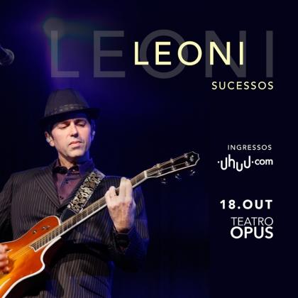 Show Leoni: 50 ingressos com 40% de desconto com o cupom!