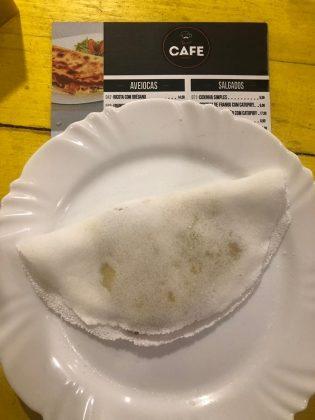 Tapioca Mista + Café Longo por R$ 17,00