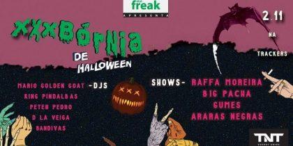 A melhor noite de Halloween com bandas por R$ 25,00!