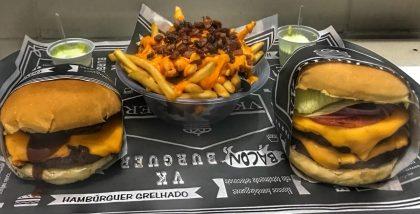 GANHE 1 Cheeseburger na compra de 1 Combo VK (Qualquer Burger + Batata + Refri)