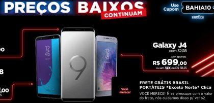 Cyber Monday Casas Bahia  produtos com até 50% + cupom de 10% OFF cf06014e94