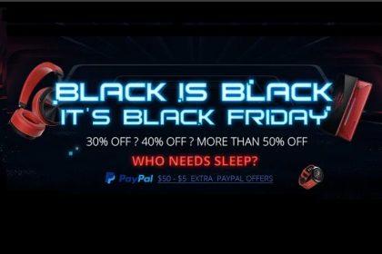 Black Friday GearBest até 50% OFF!