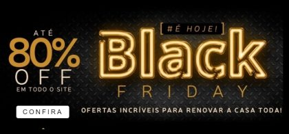 Black Friday Marabraz: Até 80% OFF para renovar a casa!
