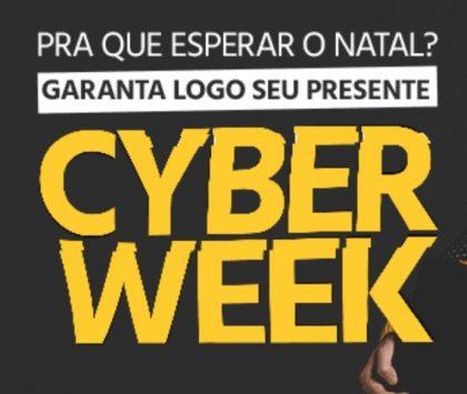 Cyber Week Submarino: até 80% OFF + Cupom 10% OFF + 12% OFF pelo boleto!