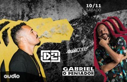 Ingressos com 57% de desconto para o Show de Marcelo D2 e Gabriel O Pensador!