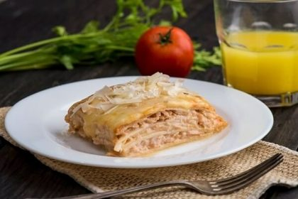 FIT: Lasanha de Palmito Pupunha recheada com frango por apenas R$21,90!