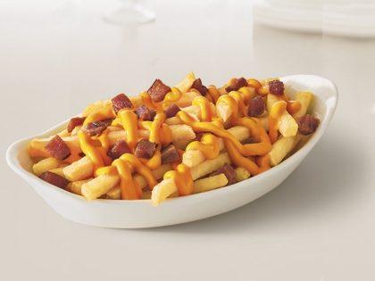 Mega Batata com Cheddar, Bacon e Mussarela por R$ 24,90
