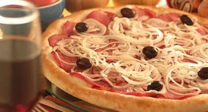 Pizza Grande sabor Lombinho Canadense por apenas R$ 24,99!
