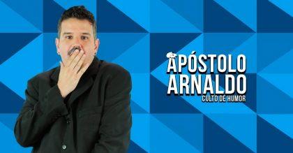 """Espetáculo """"Apóstolo Arnaldo"""" com 30% de desconto!"""