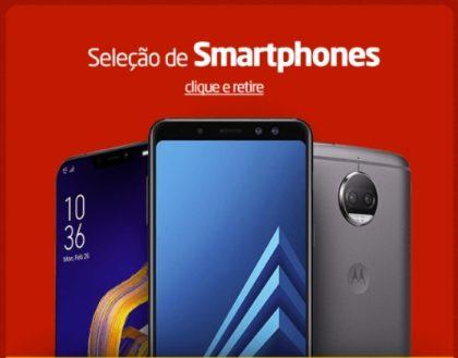 Cupom de 5% OFF em smartphones no site do Ponto Frio