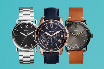 15% OFF em seleção de relógios