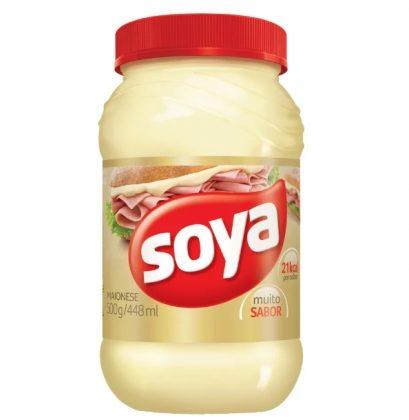 Maionese Soya com 20% de desconto!