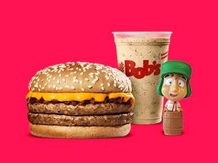 Cheddar M + Milk P + Item colecionável por R$ 23,00!