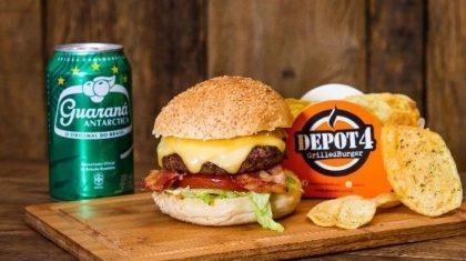 Combo: Burguer + batata chips + refrigerante por apenas R$ 34,90!