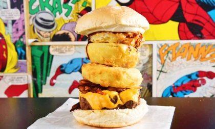 2×1: Burger Rolling Stones em dobro, compre um e leve outro GRÁTIS!