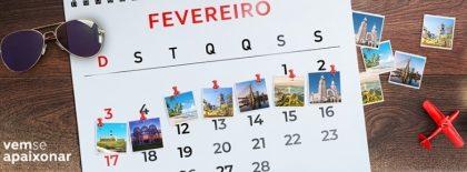 Semana inesquecível: passagens aéreas a partir de R$110