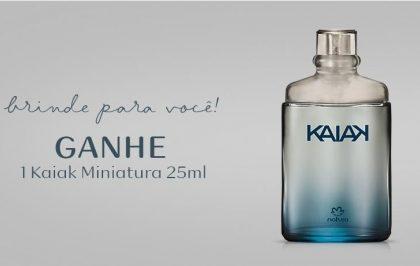 GANHE um Kaiak as compras acima de R$ 149 no site da Natura