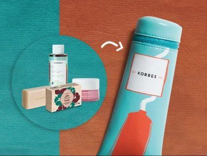 GANHE uma necessaire exclusiva na compra do Kit Beleza Grega