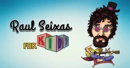 """Espetáculo """"Raul Seixas For Kids"""" com 30% de desconto!"""
