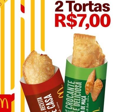 2 Tortas por apenas R$ 7,00!