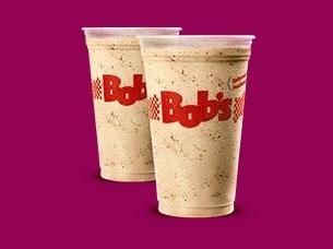 2 Milk Shakes tamanho M por apenas R$ 14,50!