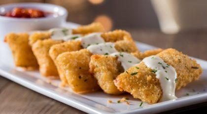 (Aricanduva) Fried Mozzarella por apenas R$ 13,50!
