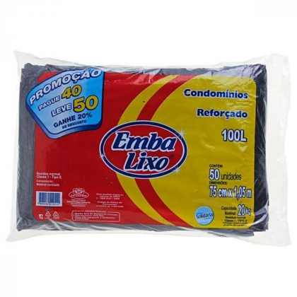 Sacos de lixo Embalixo com 30% de desconto!