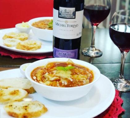 Ravióli de Abóbora ou Queijo com Vinho para 2 por apenas R$ 49,50!