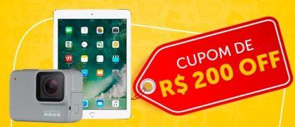Semana do Consumidor: cupom de R$200 reais para produtos selecionados no site do Girafa