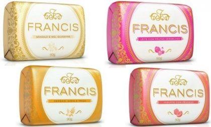 Linha Francis com 20% de desconto!