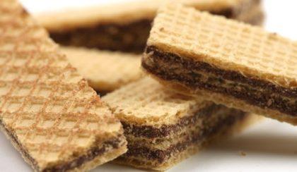 Biscoitos Wafer com 25% de desconto!