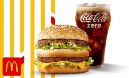 Big Mac + Bebida (500ml) por apenas R$ 14,90!