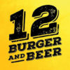Logo 12 Burger and Beer
