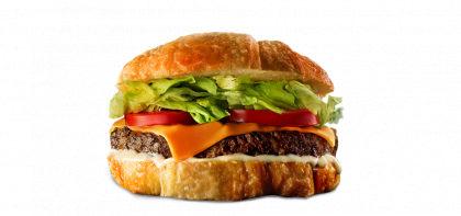 Croaburger Clássico + Croasonho Chocolate Preto e Branco por R$20,90! (Shopping Cidade SP)