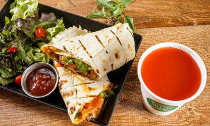 Monte o seu Wrap + Suco Natural por apenas R$ 26,90!