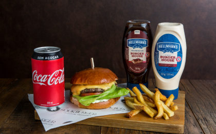 Combo R$ 30: Cheese-K + Batata Frita + Refrigerante!