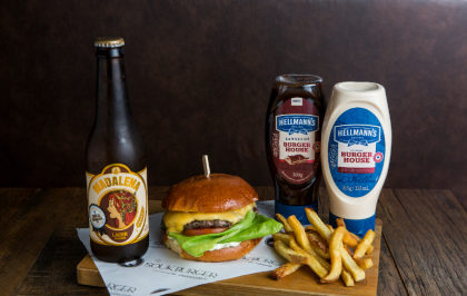 Combo R$ 36,90: Cheese-K + Batata Frita + Cerveja Madalena Long Neck! [+18]