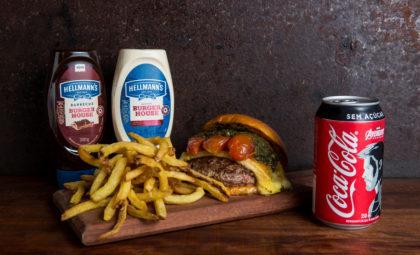 Combo R$30: Burger Genovese + Batata + Refrigerante