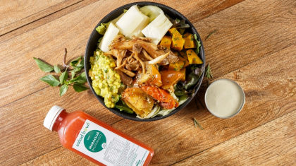 Monte sua salada pequena + Suco natural por apenas R$ 29,90!