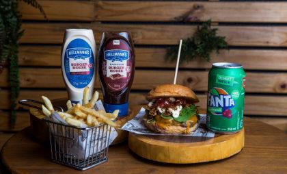 Cupom R$ 30: Maple Burger + Batata Frita + Refrigerante!