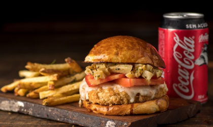 Combo R$ 30: Burger Veggie + Batata Frita + Refrigerante!