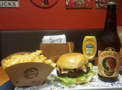 Combo R$31,90: Flow Vegetariano + Batata Frisè + Cerveja Madalena long neck [18+]