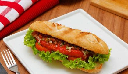 (Center 3) Choripan + Porção de batata rústica por apenas R$ 20,90!