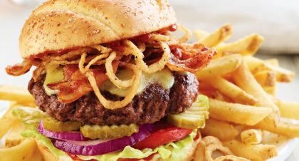 Cowboy Burger com Batata Frita por apenas R$ 36,50!